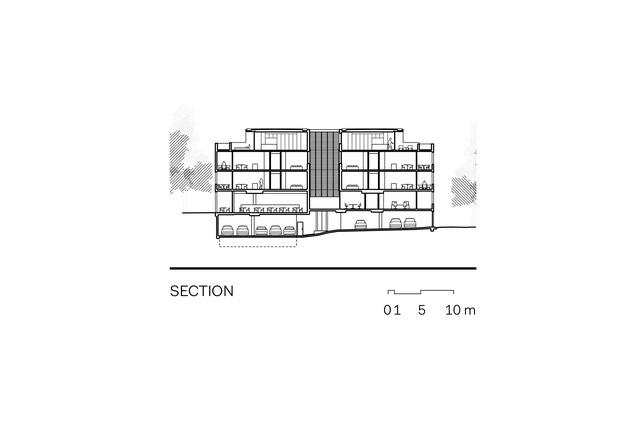 Section through Sydney 385.
