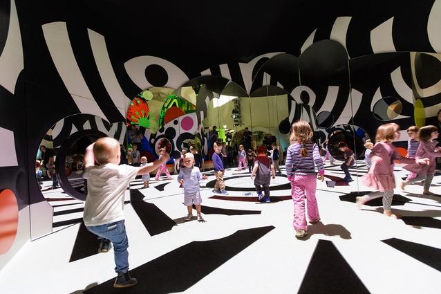 Camouflage Disco: Pauline Gandel Children's Gallery, Melbourne Museum by Design Studio, Museum Victoria.