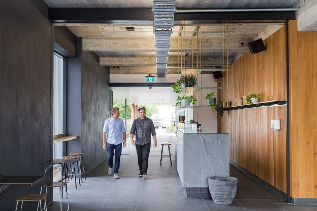 Commercial winner: South Bloc, Hamilton by Edwards White Architects.
