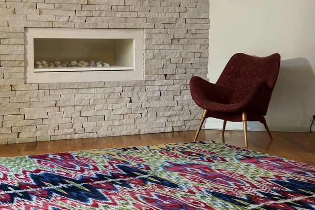 Bargarh 4 from Hali&#39;s Ikat rug range.