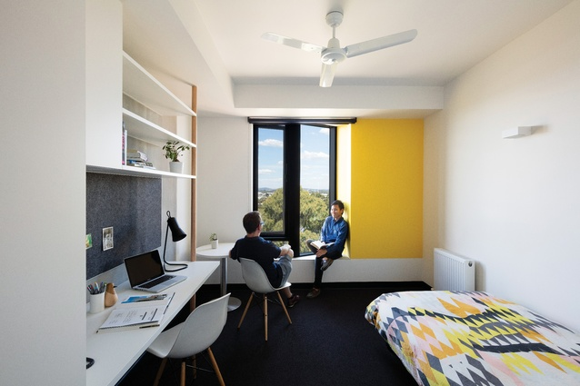 All four of the new Monash University halls have adopted a model that offers the students self-catering studio apartments and ensuites.