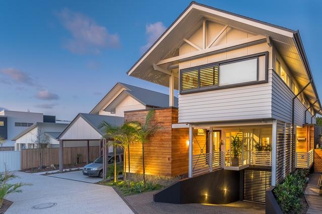 Luke and Amanda's Beach House by Scott Carpenter Architect.