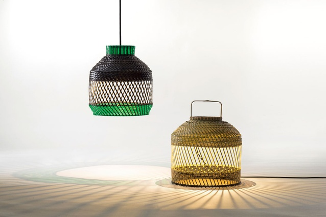 Gabbia lights from Industry+