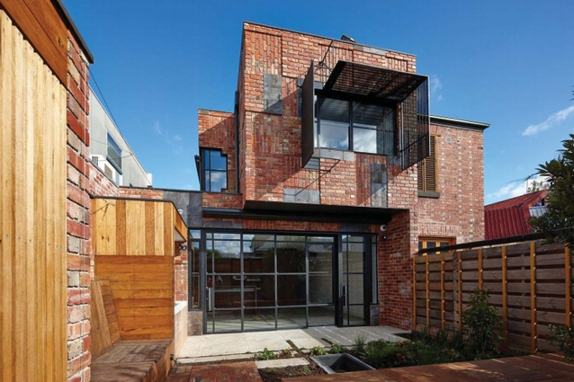 The Cubo House exemplifies how up-cycling can be employed elegantly, Young says.