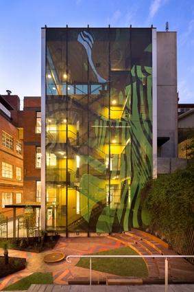 Ngarara Place at RMIT city campus by Greenaway Architects.