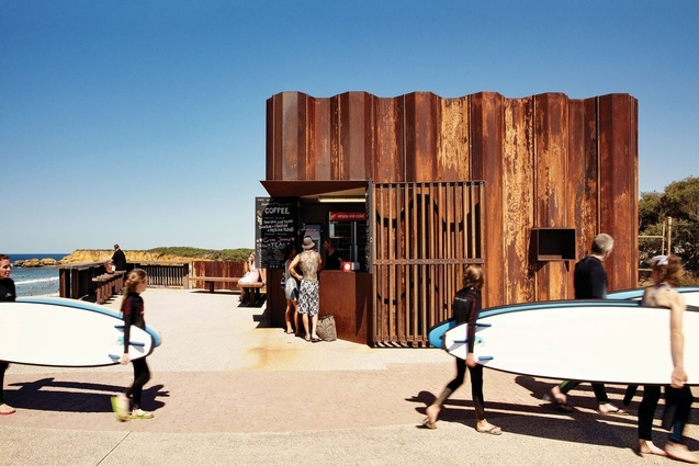 Small Project Architecture Commendation: Third Wave Kiosk by Tony Hobba Architects.