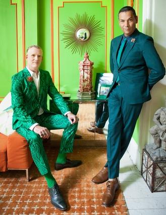 Mark Haldeman and James Aguiar, New York.