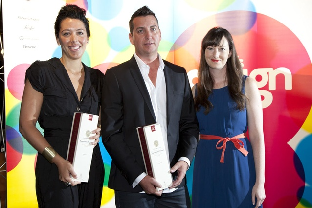 Tatum Savage, M.A.C Cosmetics; Adrian Reid, spazioCasa and Nicole Stock, Urbis.