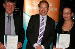 Awards aplenty for social housing professionals