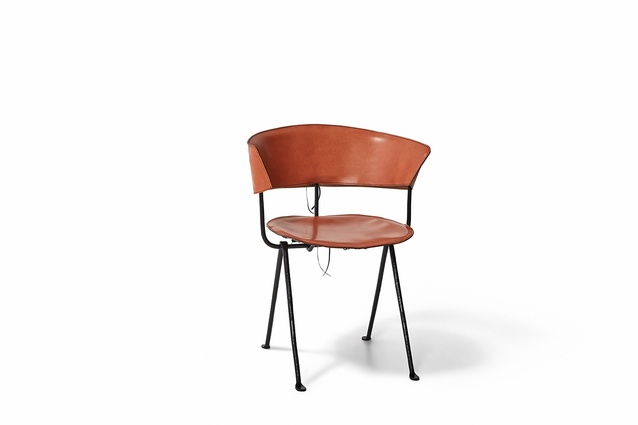 The Officina chair reinvented by Bassike for Chairity Project 2016.