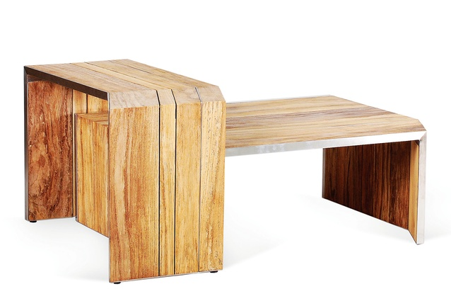 Lumiere coffee table part of Wintons Teak's new collection.