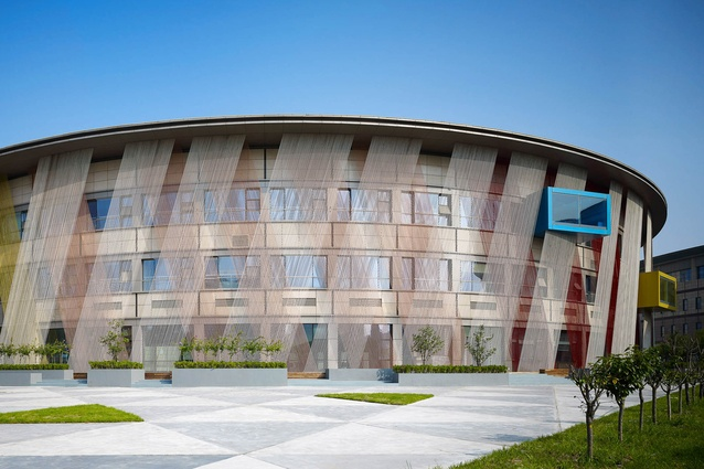 Soyoo Joyful Growth Center by Crossboundaries in China. The design of this building is based on allowing the child to explore and learn through play.