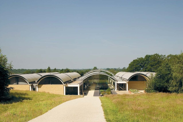 Kew's Millennium Seed Bank at Wakehurst Place, UK, by Stanton Williams.