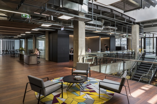 Interior Architecture winner: Intergen Fitout by Warren and Mahoney.