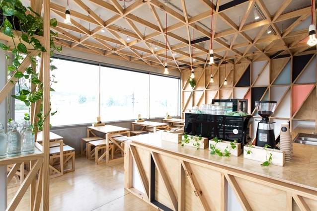 Jury by Biasol: Design Studio, shortlisted for Best Cafe Design.