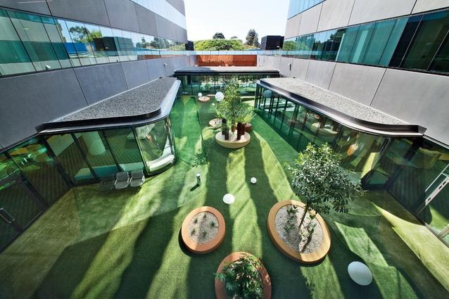 Royal children s hospital landscape architectureau for Courtyard landscape design melbourne