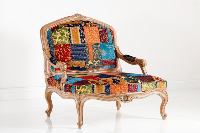 Louis XV chair from Chelini.