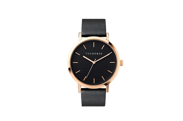The Horse Watch - Rose Gold/Black | 