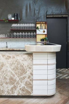 Winner of Best Bar Design – Smalls by Fiona Lynch Office.