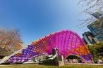 John Wardle Architects' NGV summer pavilion opens