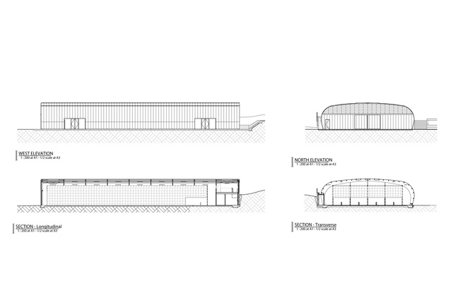 The Hodge Sports Centre Architecture Now