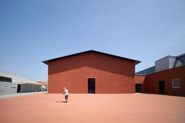 Exteriors category: Photographer: Julien Lanoo. Building: Vitra Shaudepot, Weil am Rhein, Germany. Architect: Herzog & de Meuron.