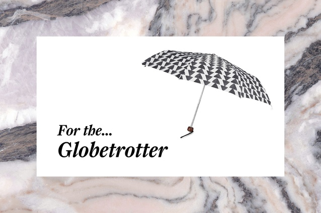 For the Globe trotter.
