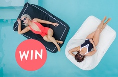 Win a SoFloat Santorini lounger