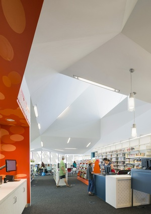 Pico Branch Library by Koning Eizenberg Architecture.