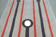 Win a Skellington Girl rug from Dilana Studio