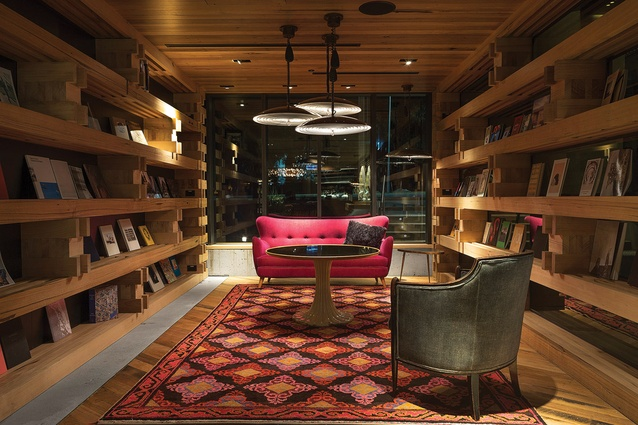 Hotel Hotel's library.