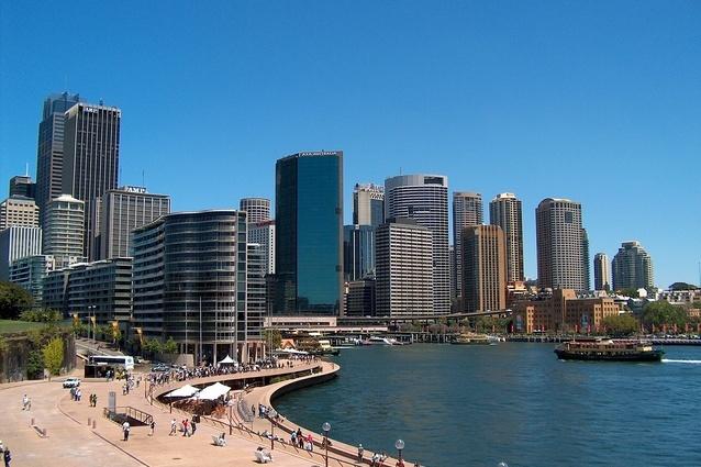 Central Sydney.