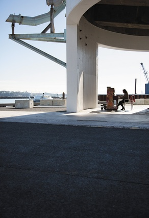 Public piano in the Wynyard Quarter.