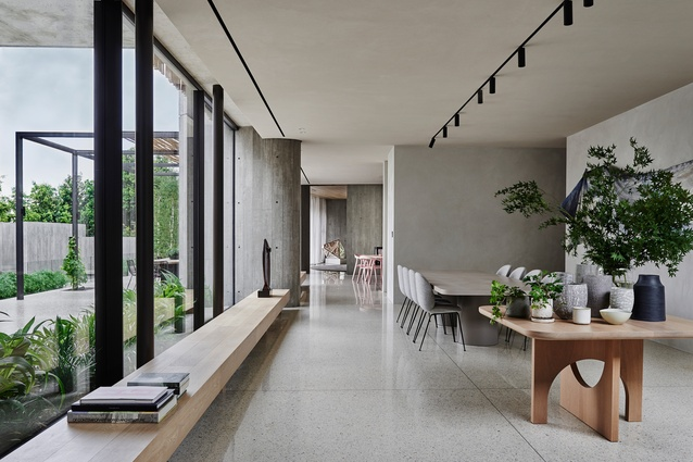 Twig House by Leeton Pointon Architects + Interiors, and Allison Pye Interiors.