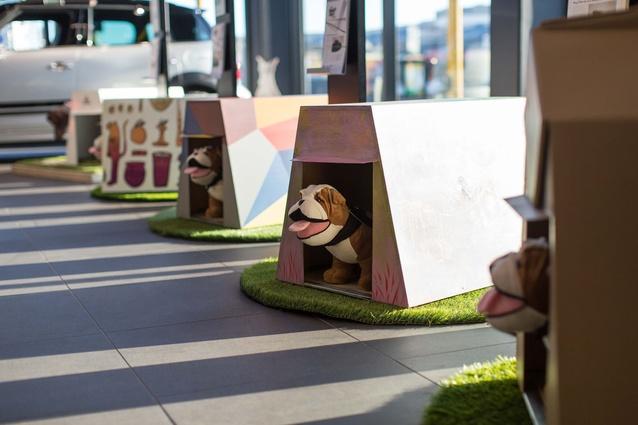 Designer Doghouses.