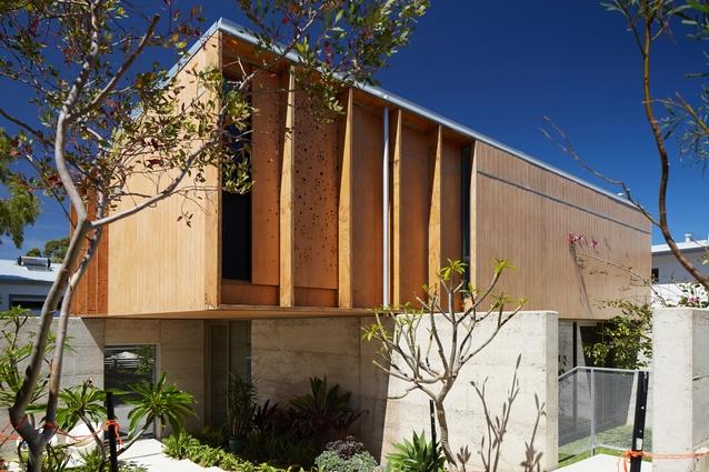 North Perth House by Jonathan Lake Architects.