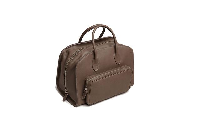 "Medici Overnight Bag | $4,990 from  <a  href=""https://evondadelszen-com.myshopify.com/products/medici-overnight-bag"" target=""_blank""><u> evondadelszen.com </u></a>"