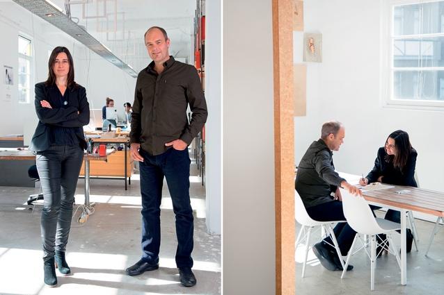 Cecile Bonnifait and William Giesen of Atelierworkshop Architects.