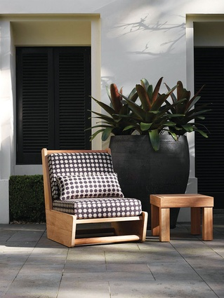 Loop outdoor furniture from Robert Plumb.
