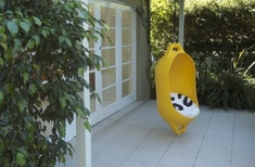 Marine Buoy hanging chair