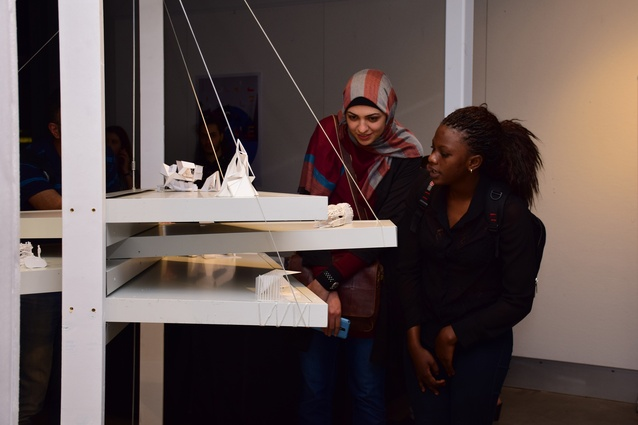 SONA's Upscale student exhibition on display at UniSA.