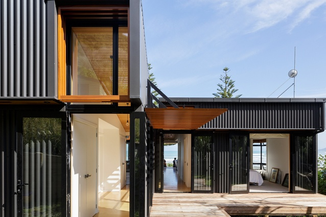 Offset House by Irving Smith Jack Architects.
