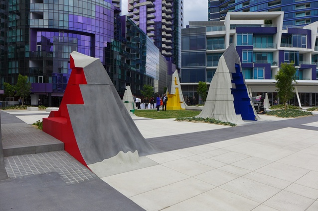 Monument Park by McBride Charles Ryan, Callum Morton and Oculus.