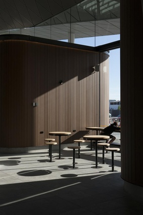 Winner: Civic Award – Christchurch Bus Interchange - Whakawhitinga Pahi by Architectus.