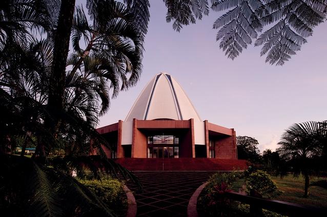 The Baha'i temple in Samoa.