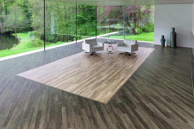 New wood designs for Karndean's Da Vinci collection of luxury vinyl flooring.