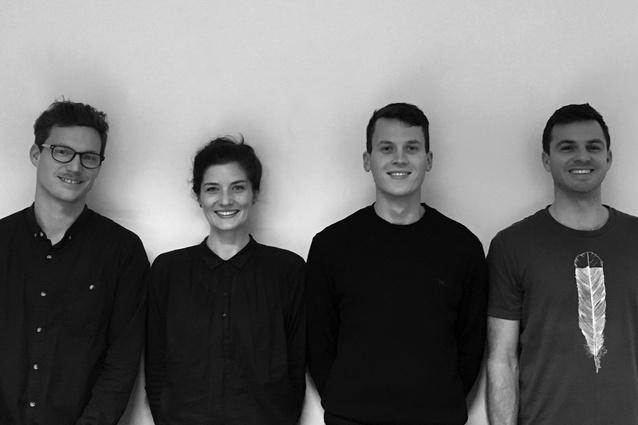 The Makers directors team: Jae Warrander, Beth Cameron, Grant Douglas and Ben Sutherland.
