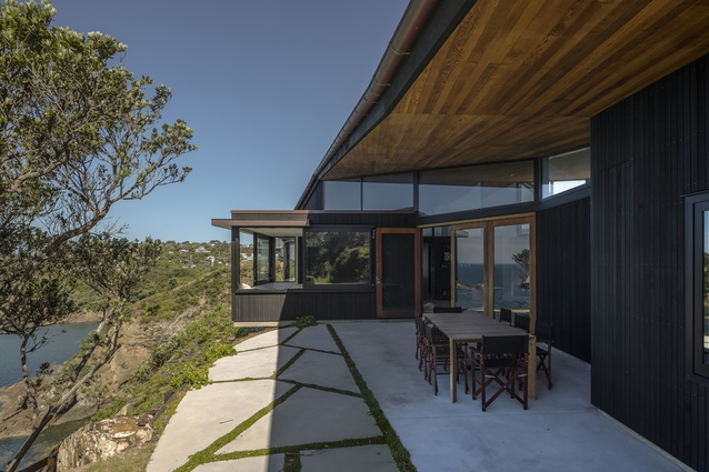 Housing Award: Te Kohanga House by Wendy Shacklock Architects and Paul Clarke of Crosson Clarke Carnachan in association.