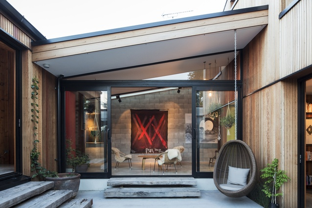 Housing category winner: E-Type House, Auckland by RTA Studio.