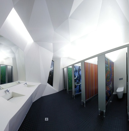 Small Project Architecture Award  Cultural Centre Amenities by Coniglio Ainsworth Architects.